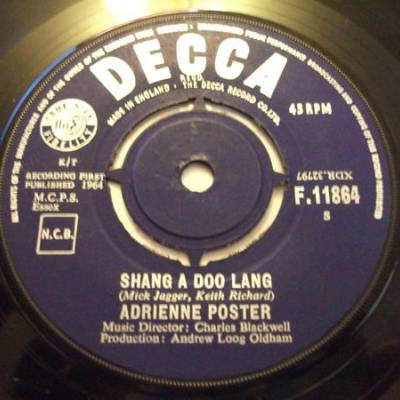 Adrienne Poster* - Shang A Doo Lang / When A Girl Really Loves You