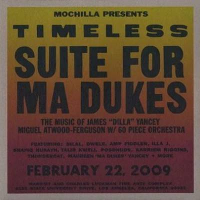Miguel Atwood-Ferguson - Mochilla Presents Timeless: Suite For Ma Dukes